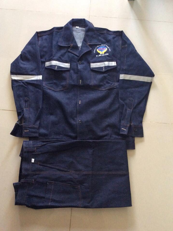 Quần áo BHLĐ vải Jean