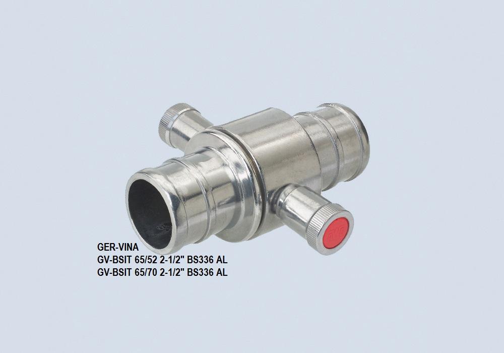 Khớp nối nhanh Ger-Vina D65, BS336 bằng nhôm, TCVN